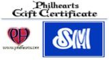 PhilHearts Gift Certificate - SM Super Mall