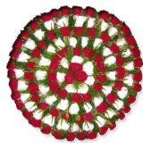 101 pcs Red & White ROSES MOON