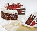 Red Ribbon Blackforest Cake