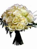 Send exquisite white roses to Philippines