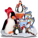 Christmas Gift Stack-Penguin Parade