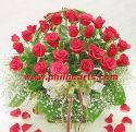 Exclusive Rose Basket