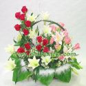 Flower bouquet - Uniquely arranged