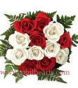 Pinoy Classic - Red & White Rose