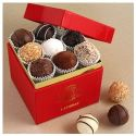 Leonidas Red Gold Pearl Truffle Box