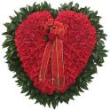 101 red ROSES heart