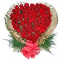 100PC RED  ROSES
