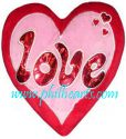 Love with Heart Pillow