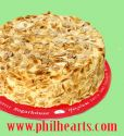 Almond Sansrival Cake-Sugarhouse
