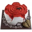ROSE INSPIRATION FRESH CREAM CAKE