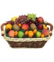 Snickers 24 pcs chocolate & assorted fruits basket