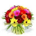 Beaming Gerberas Bouquet